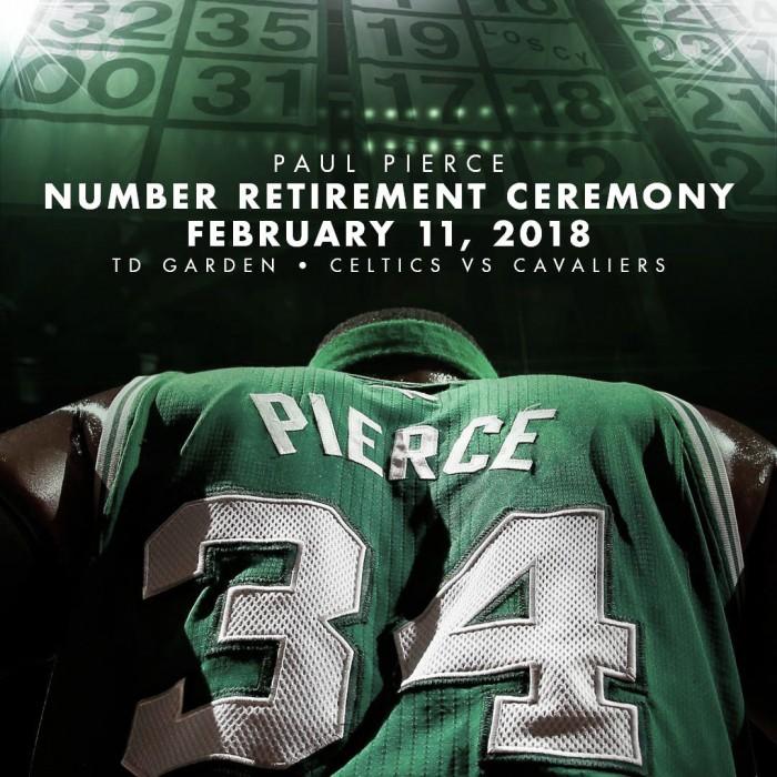 Los Celtics confirman la fecha para la retirada del '34' de Paul Pierce