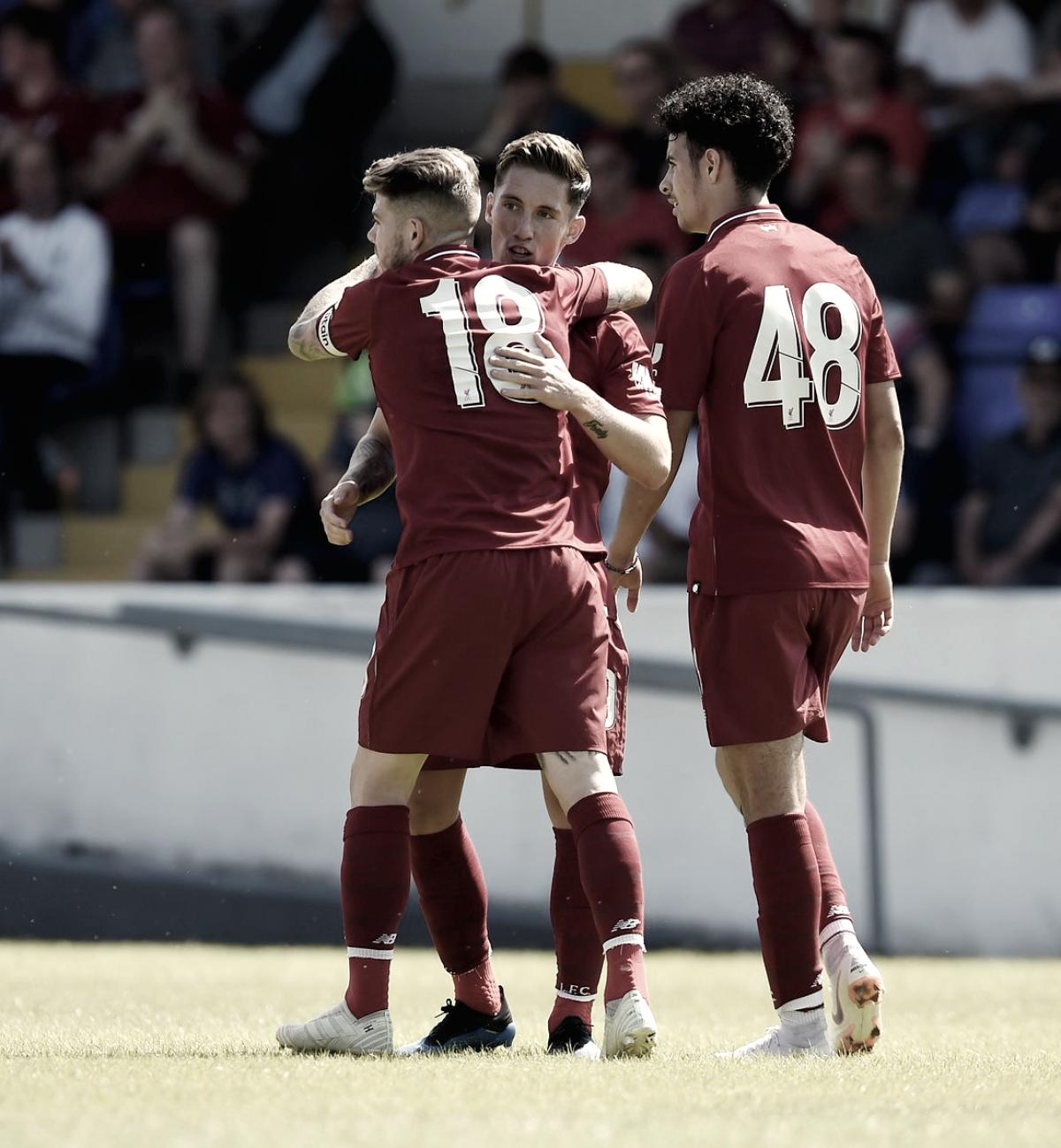 El Liverpool comienza su pretemporadacon goleada