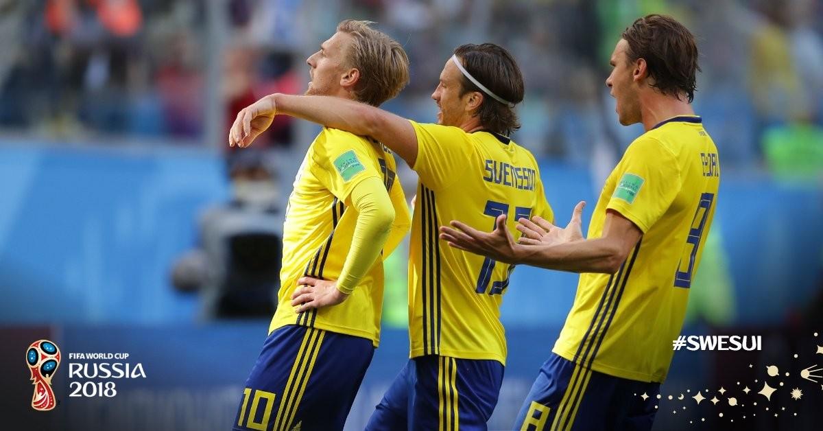 Mondiali Russia 2018 - La Svezia vola ai quarti conForsberg!