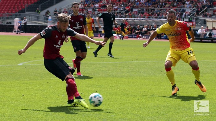 1. FCNürnberg2-2 1. FC Union Berlin: Hanno Behrens saves a point for Der Club