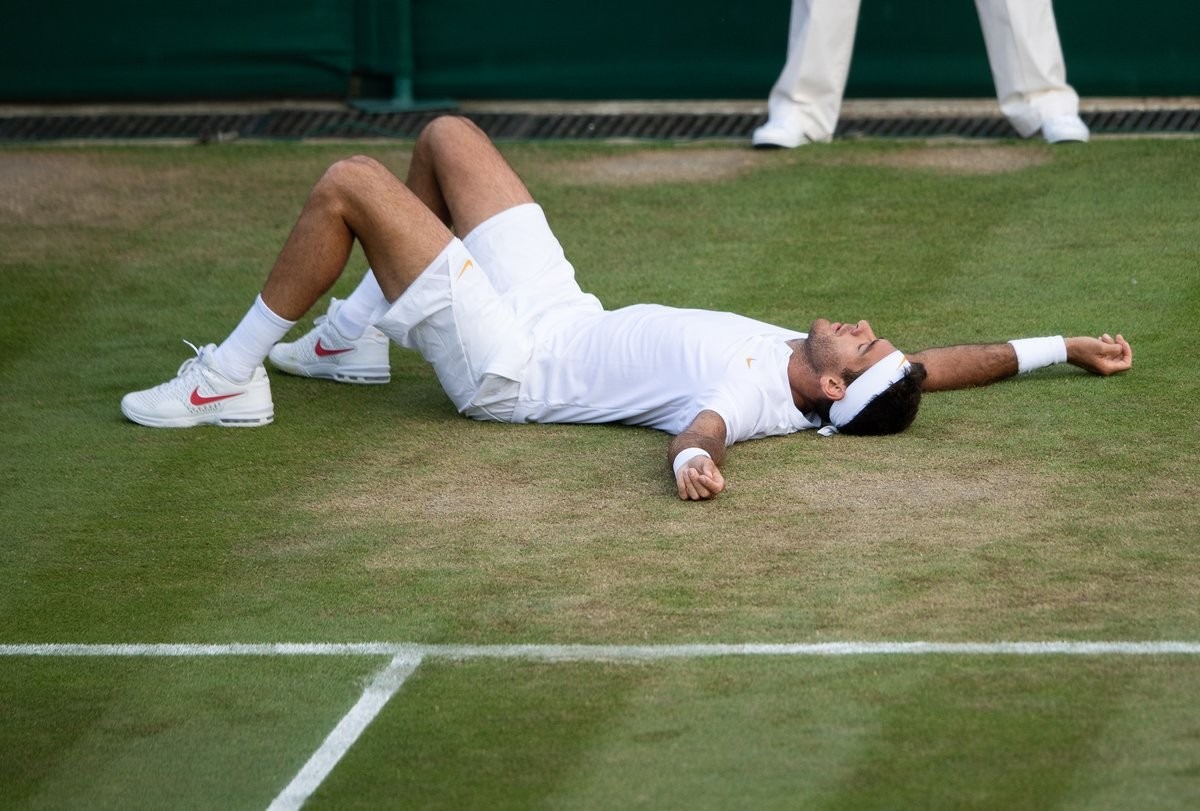 Wimbledon 2018 - del Potro vince la maratona contro Simon