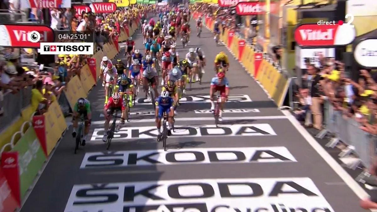 Tour de France 2018, quarta tappa: Gaviria concede il bis