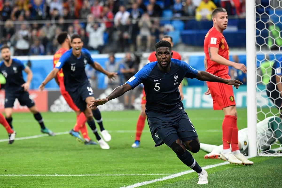 Russia 2018 - Umtiti spedisce la Francia in finale: battuto 1-0 il Belgio