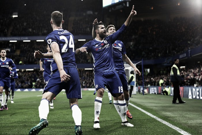 Chelsea continua boa fase, massacra Everton e dorme líder da Premier League
