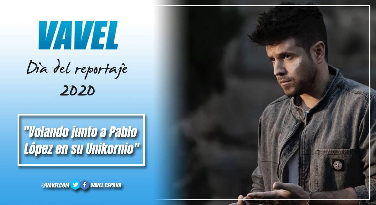 Volando junto a Pablo López en su Unikornio