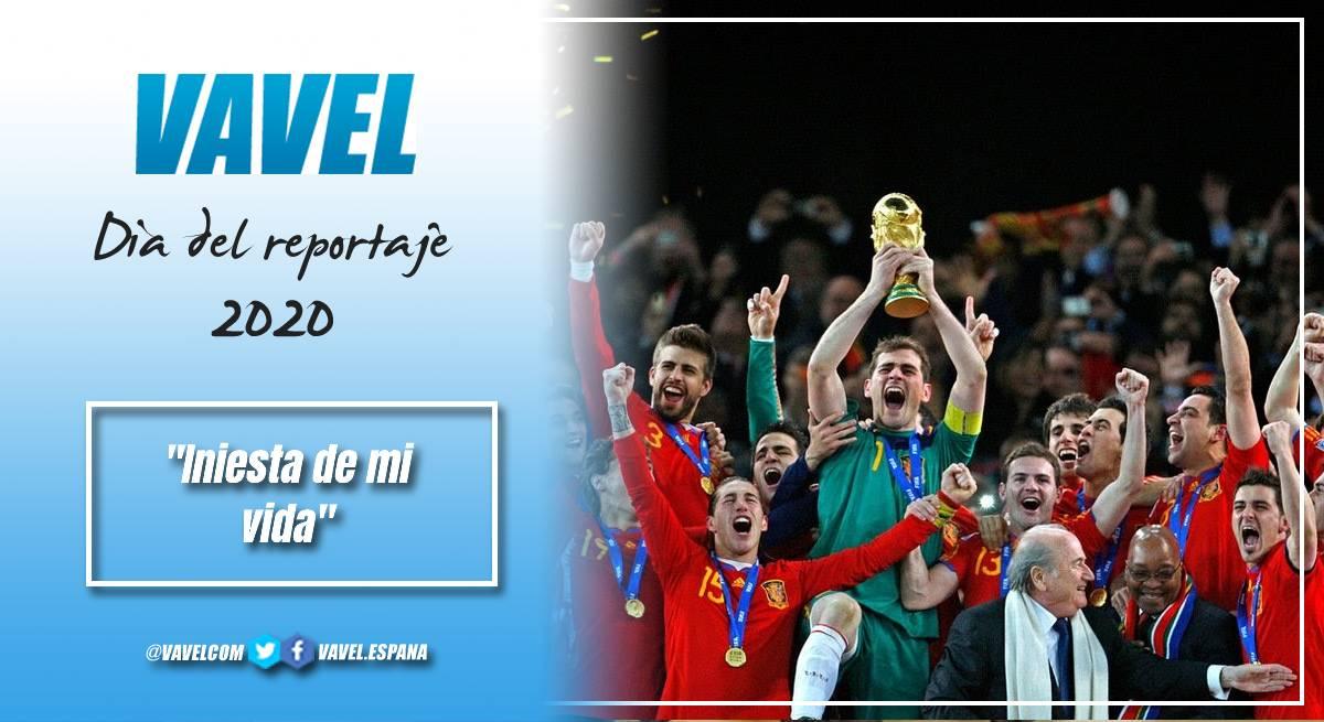 España levantando la Copa del Mundo en 2010 / Foto: Twitter @eltelevisero