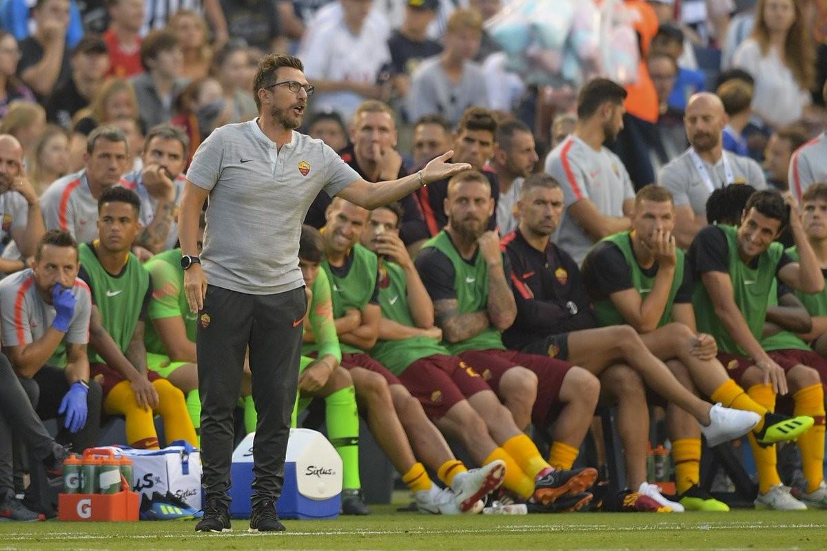 Di Francesco commenta la sconfitta contro il Tottenham in amichevole