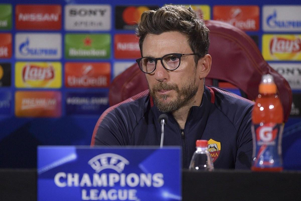 Di Francesco pre Barcellona-Roma: