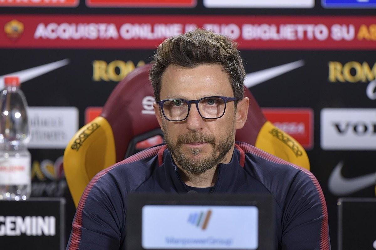 Roma, Di Francesco presenta la sfida con la Fiorentina