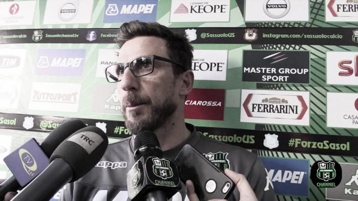 """Sassuolo, desiderio Di Franceso: """"Contro la Juventus possiamo cercare qualcosa di grande"""""""