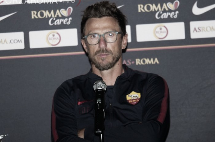 """Roma, Di Francesco: """"Porto avanti le mie idee"""""""