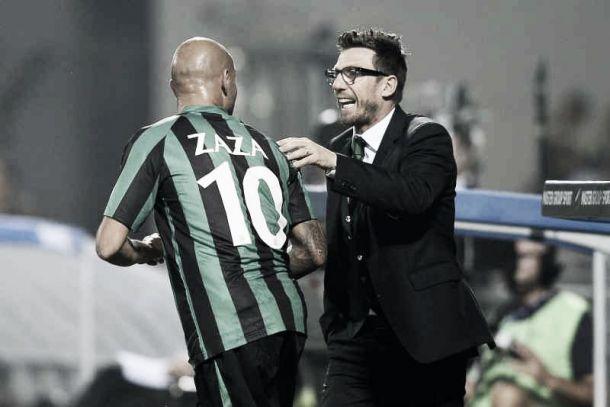 """Sassuolo, Di Francesco: """"Juve in grande condizione. Zaza? Può fare autogol"""""""