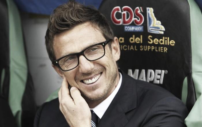 """Finalmente Sassuolo, Di Francesco: """"Era fondamentale tornare alla vittoria. Sono contento"""""""
