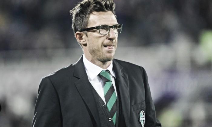 """Sassuolo, parla Di Francesco: """"A Bergamo abbiamo fatto benissimo, contro la Samp non sarà facile"""""""