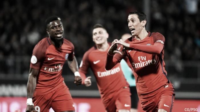 Ligue 1 - Il Paris Saint-Germain agguanta il Monaco in testa alla classifica