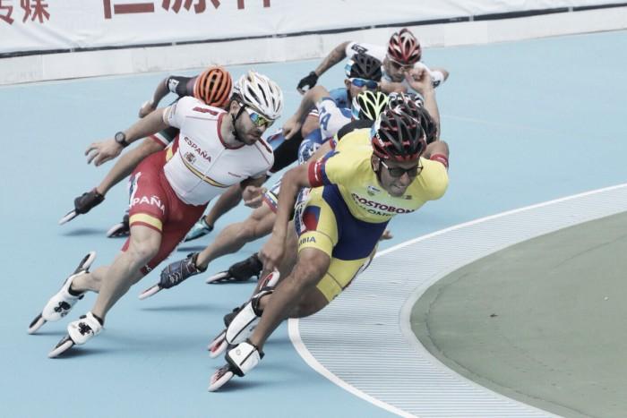 Colombia se baña en oro en el segundo día de los World Roller Games