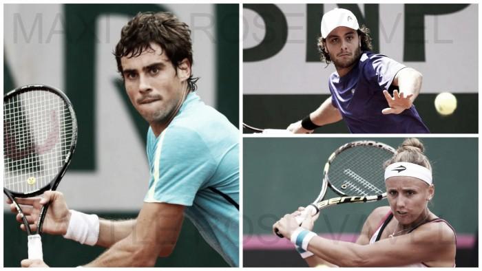Argentinos en Roland Garros: Día 2