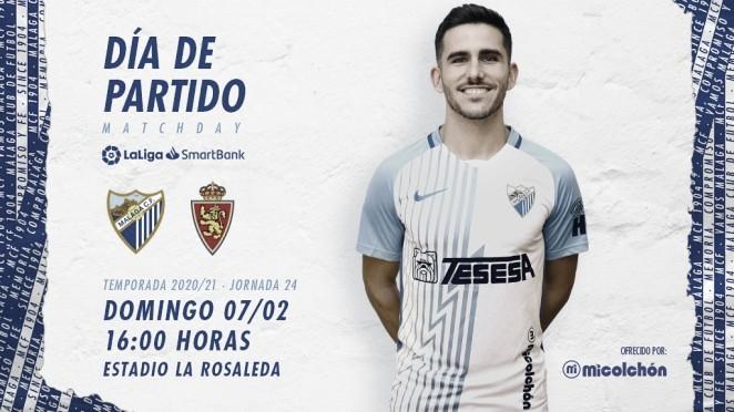 Previa Málaga CF - Real Zaragoza: el yin y el yang