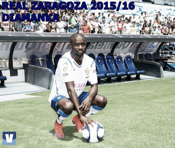 Real Zaragoza 2015/16: Diamanka