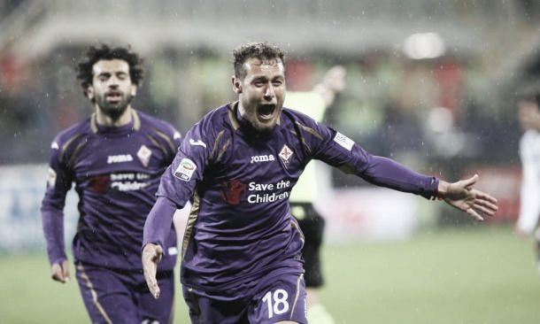 Fiorentina 2-0 Sampdoria: Salah stunner secures a win for Fiorentina