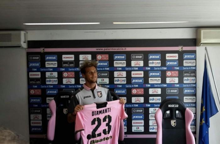 """Palermo, Diamanti: """"Se giochiamo preoccupati non si vince"""""""