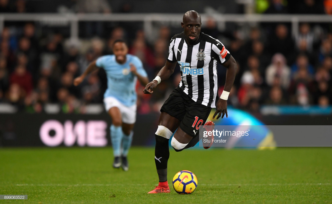 Diame reveals why he rejected a new contract at Newcastle