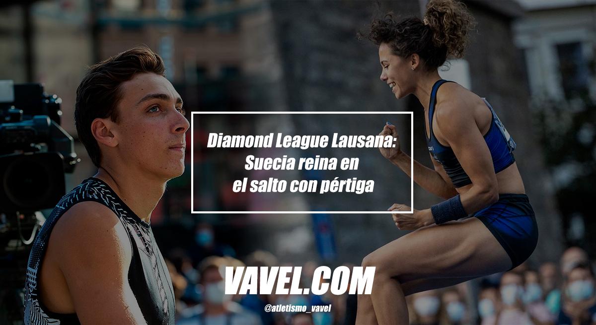Diamond League Lausana: Suecia reina en el salto con pértiga