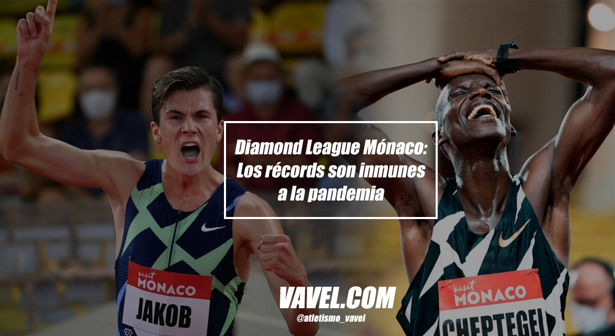 Diamond League Mónaco: Los récords son inmunes a la pandemia