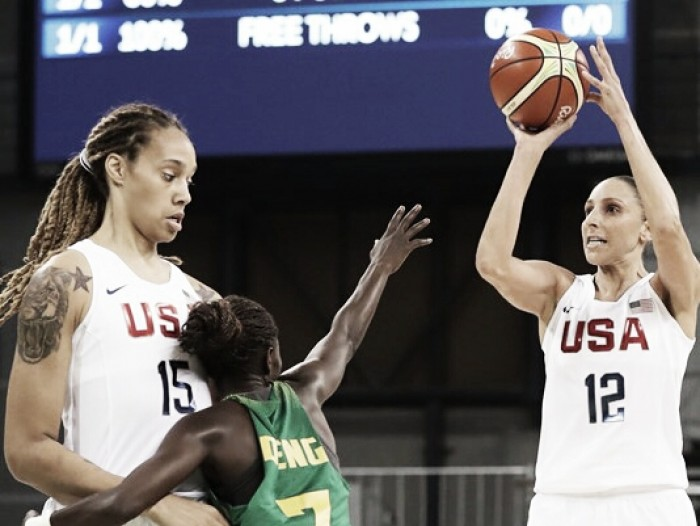 Rio 2016: Ruthless United States blow past Senegal in women's basketball, 121-56
