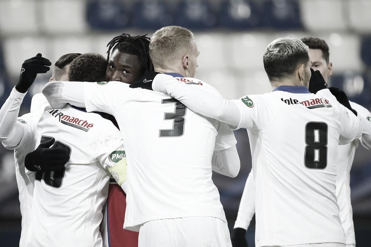 Com equipe modificada, Paris Saint-Germain vence Caen e avança na Coupe de France
