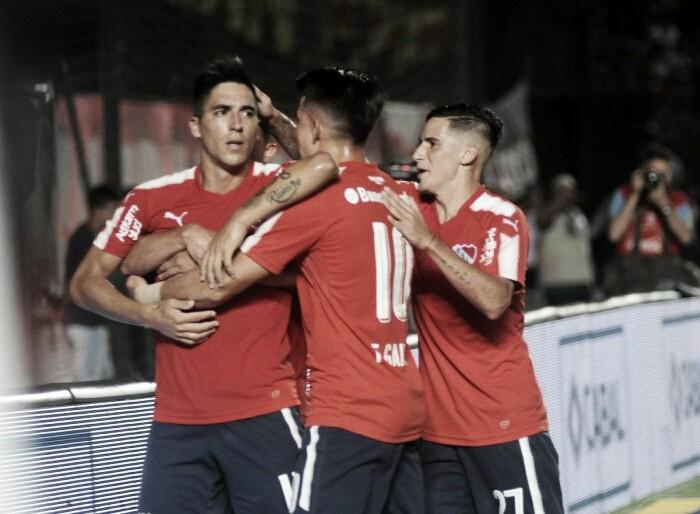 Independiente encontró la tranquilidad en Santa Fe