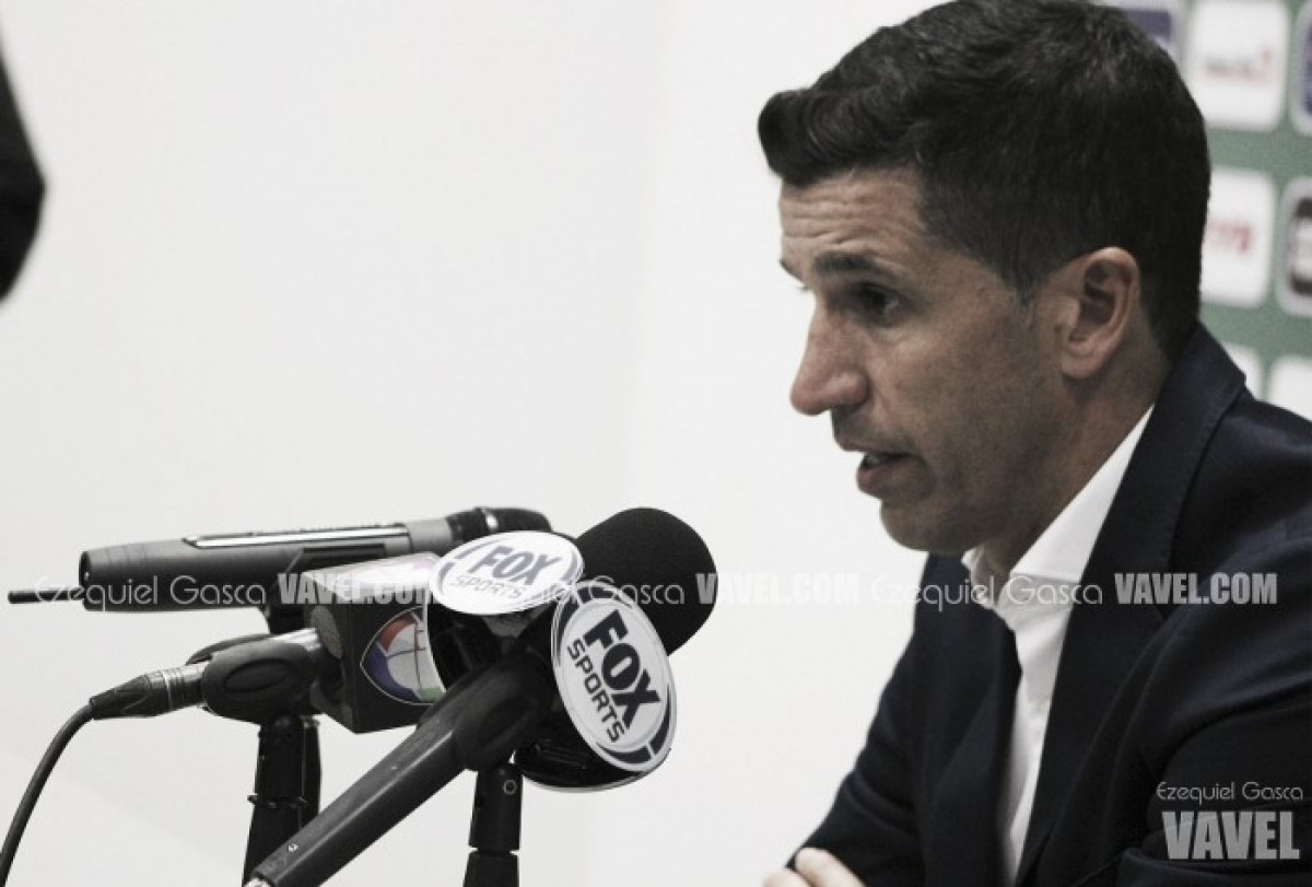 """Gustavo Díaz: """"Nos duele la lesión de Mejía"""""""
