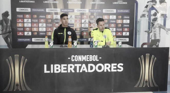 Lucas Bernardi: ''Estoy orgulloso de los jugadores''