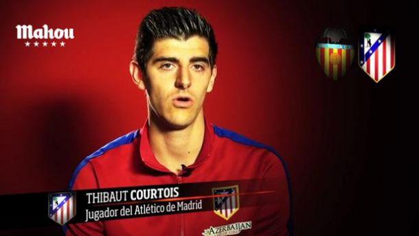"""Courtois: """"Solo si jugamos en Mestalla como si fuera una final podremos sacar el partido adelante"""""""