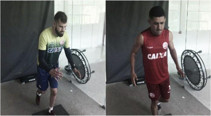 Náutico assina com goleiro Busatto e o atacante Dico encerrando as contratações para temporada
