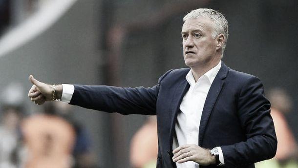 Deschamps se mostra satisfeito com atuação da França frente à Dinamarca