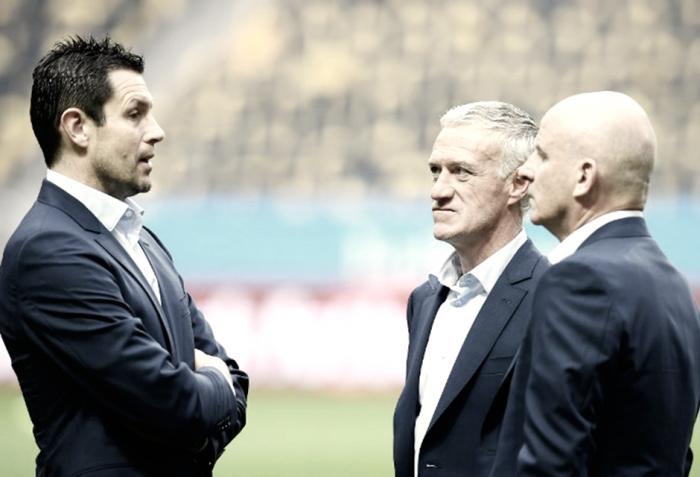"""Deschamps lamenta derrota no último lance contra a Suécia: """"Uma catástrofe"""""""