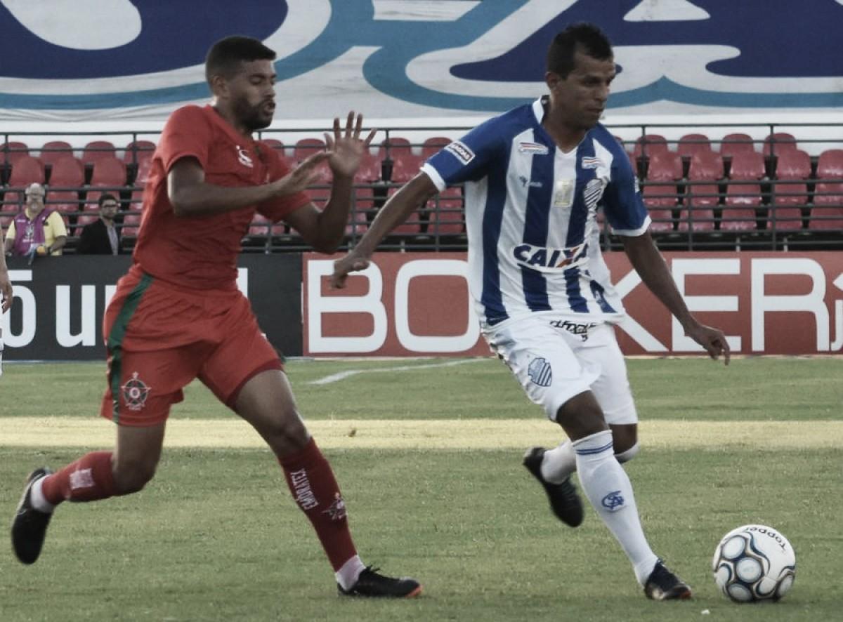 CSA vence Boa Esporte, segue com total aproveitamento como mandante e assume vice-liderança