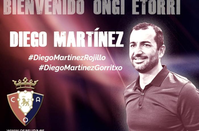 Diego Martínez, entrenador del Osasuna