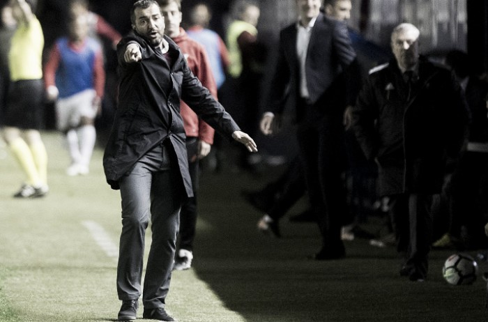 """Diego Martínez: """"Quiero felicitar a todo el equipo"""""""