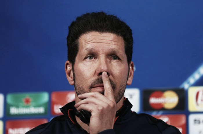 Atletico Madrid's tactics will not change