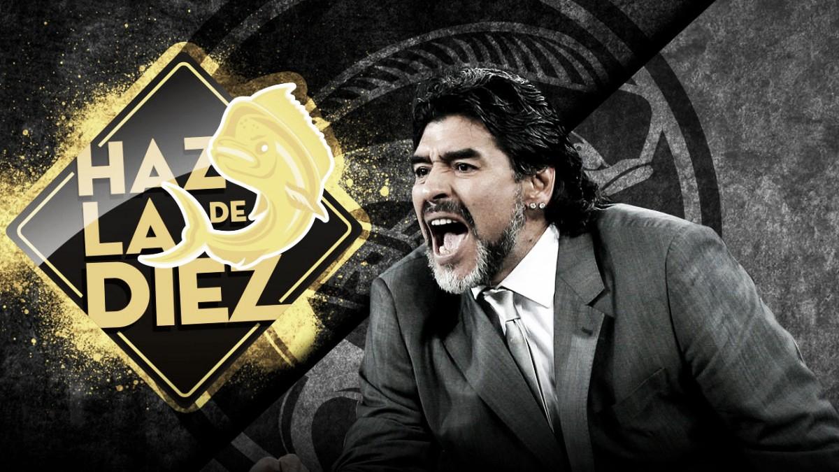 Maradona dirigirá a Dorados de Sinaloa