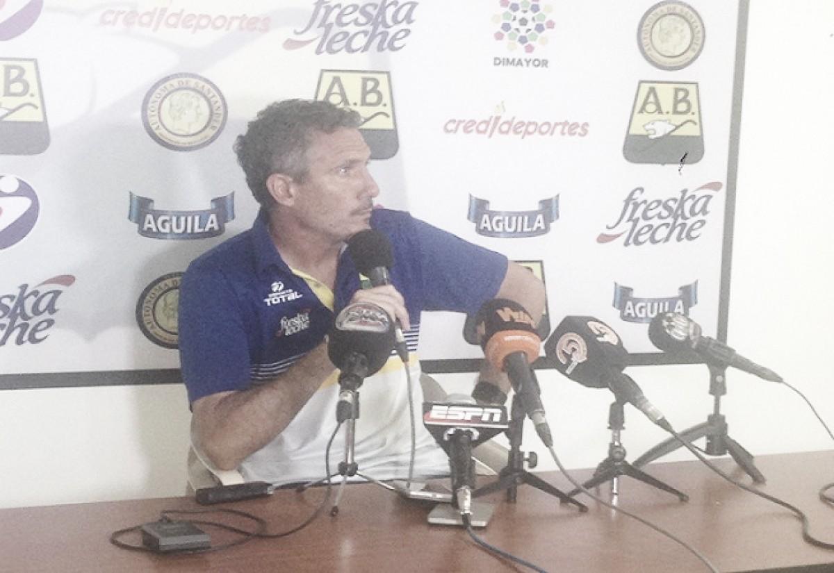 """Diego Cagna: """"El camino lo encontramos, pero el gol no"""""""