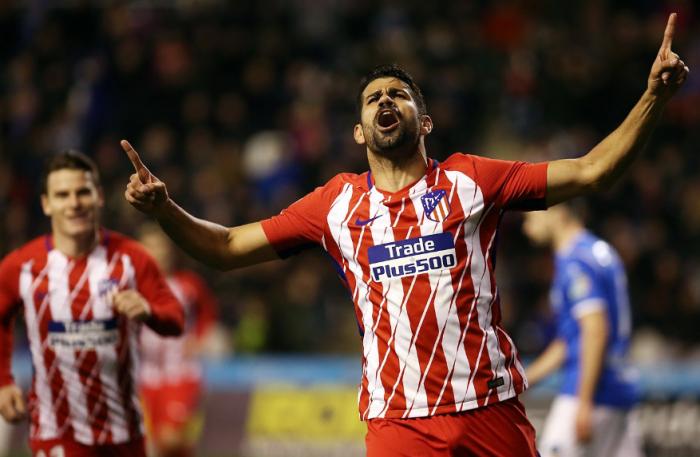 Simeone ya abrió los regalos: Diego Costa se estrena a lo grande