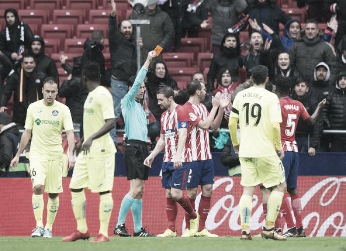 "El Getafe se ahoga en la ""costa"" atlética"
