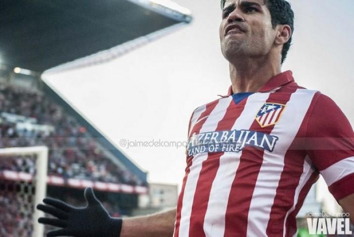 Diego Costa, l'Atletico, di nuovo,nel futuro