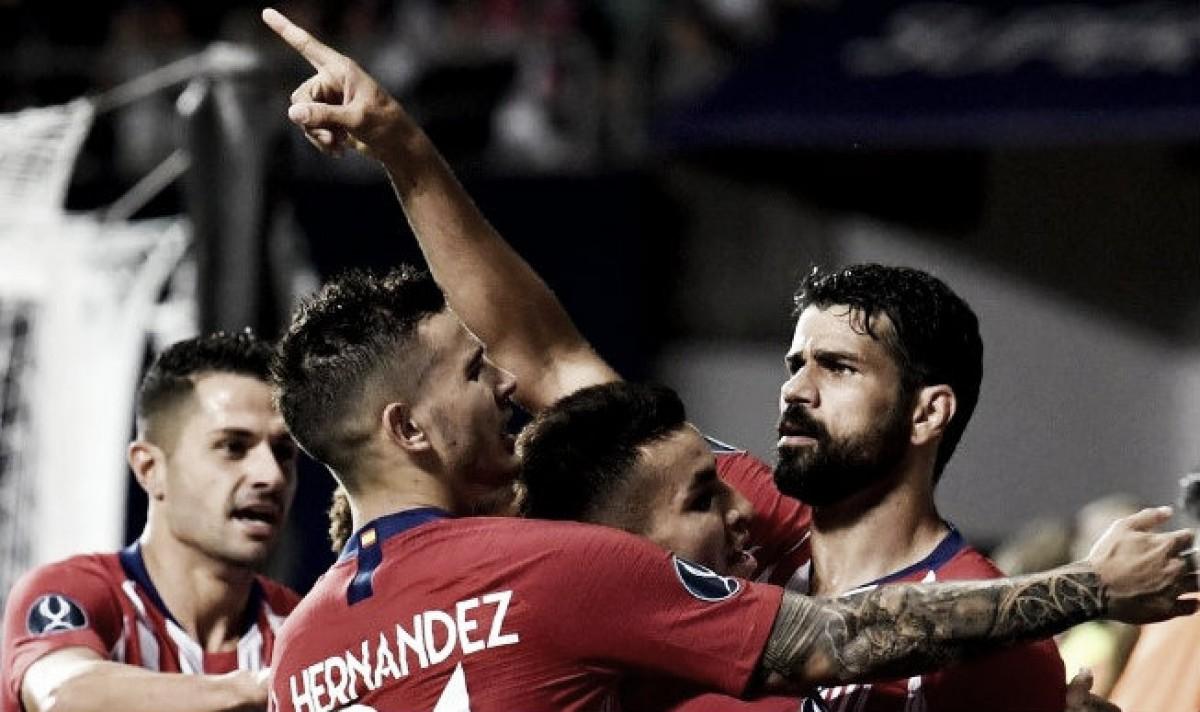 Los errores blancos y un colosal Diego Costa premian al Atlético