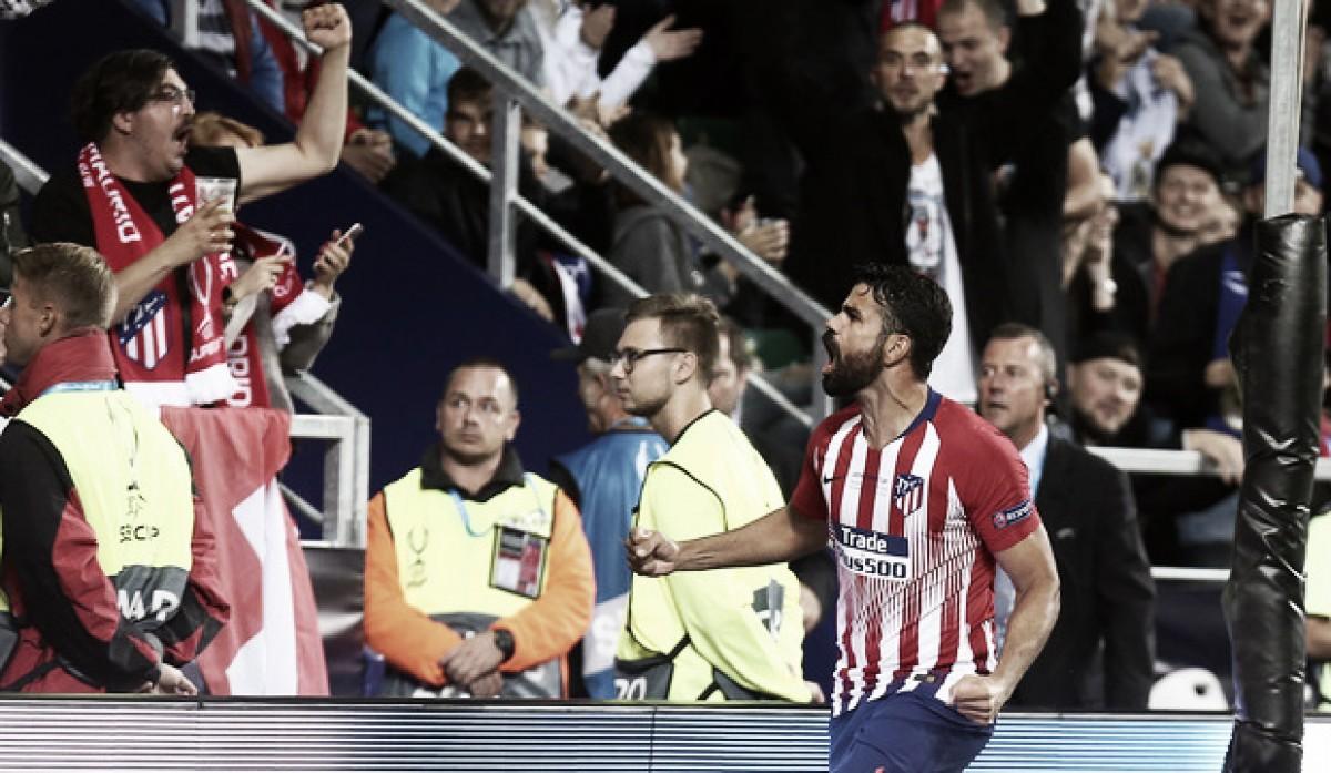 """Diego Costa enaltece título do Atlético de Madrid: """"Há muito tempo buscávamos essa vitória"""""""