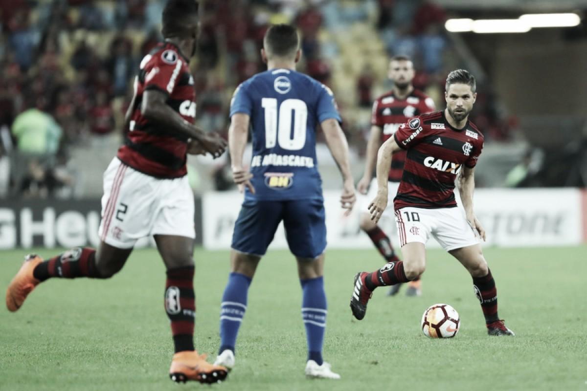 """Diego demonstra frustração com derrota do Flamengo no Maracanã: """"Decepcionante"""""""