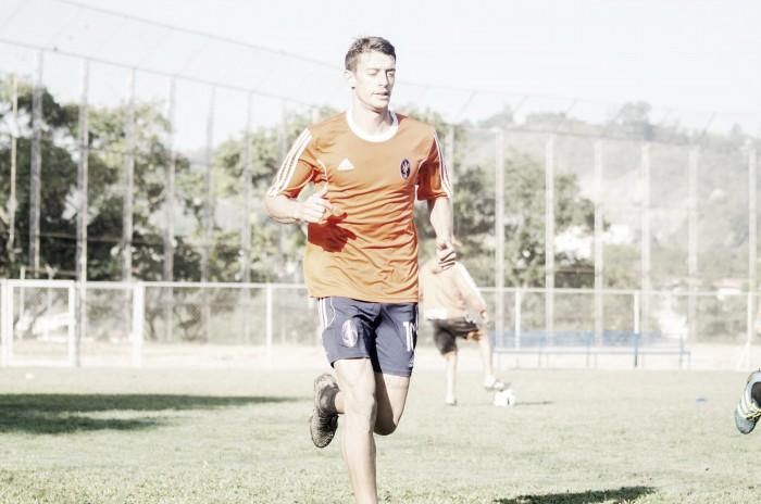 Diego Gurri inició los entrenamientos con el Deportivo La Guaira